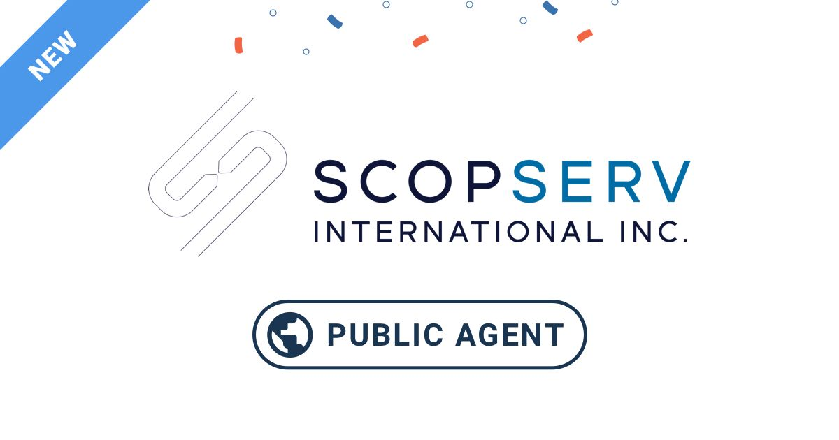 New Public Monitoring Agent at ScopServ